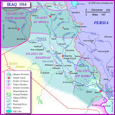Baghdad Map Musings On Iraq How The Ottoman Province Of Mosul Became Part Of Iraq