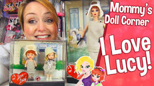 barbie i love lucy lucy gets a paris gown barbie doll review