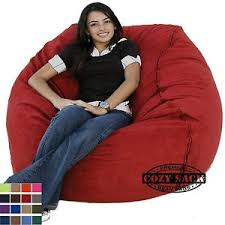 large bean bag chair factory direct cozy sack 4 u0027 cozy foam filled