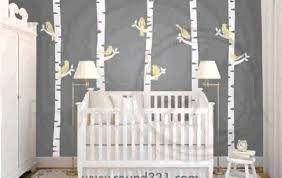 Baby Nursery Tree Wall Decals by Tree Wall Decals For Nursery Youtube