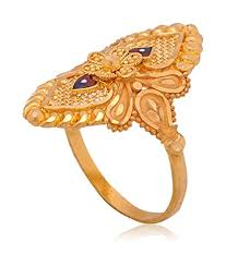 gold hand rings images Buy senco gold aura collection 22k yellow gold ring online at low jpg