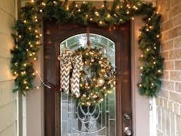 ideen für weihnachtsdeko außen schön beleuchteter