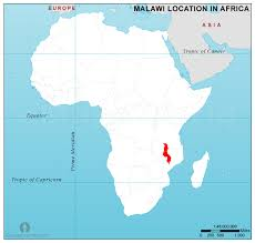 africa map malawi malawi location map in africa malawi location in africa