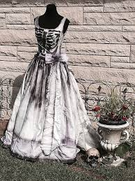 corpse wedding wedding dresses garbage bag wedding dress unique skeleton