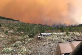 Wildfire Bc Jobs by Massive Cross Border Wildfire Growing Rapidly Salmon Arm Observer