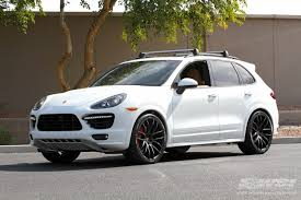 porsche cayenne black wheels 2014 porsche cayenne with 22 giovanna kilis in matte black wheels