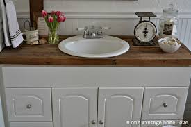 bathroom design awesome rustic wood countertops timber vanity