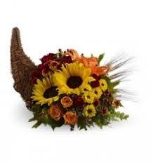 cornucopia centerpiece cornucopia sunflowers centerpiece in tx s flowers