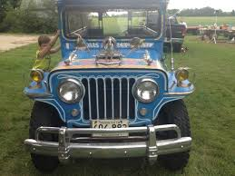 jeep station wagon 1946 wagon jeepney in person auction sold ewillys