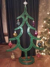 shoestmas tree ornaments horseshoe topper