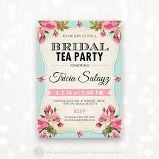 bridal tea party invitation wording party invitations cozy bridal shower tea party invitations designs