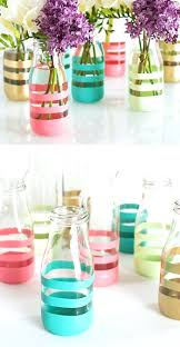 Home Decor Things Decorations Diy Painted Bottles Home Decor Recycle Limited