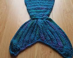 crochet mermaid tail etsy