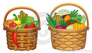 basket of vegetables clipart clipart panda free clipart images