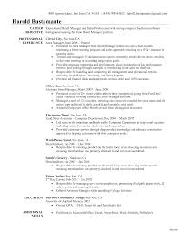 retail management resume management resume sles free sle resumes objective for