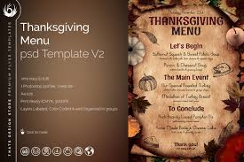 thanksgiving menu template broluthfi co