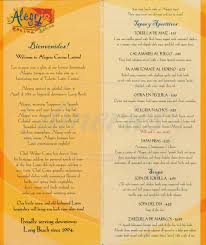 alegria cocina latina menu long dineries