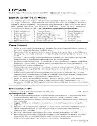 Good Engineering Resume Examples by Electrical Engineering Resume Berathen Com