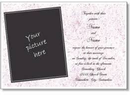 online marriage invitation card ideas wedding invitation cards online simple minimalist