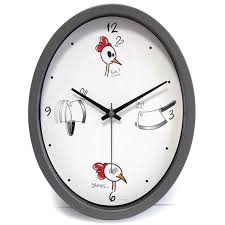 horloge cuisine horloge cuisine ludik grise
