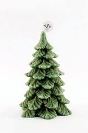 small green pine tree fragrant candle