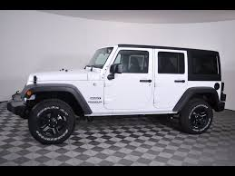 jeep rubicon white sport white jeep wrangler in ohio for sale used cars on buysellsearch