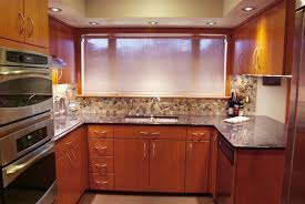 Cherry Kitchen Cabinets With Granite Countertops Kitchen Elegant Classic Cherry Kitchen Cabinets Low Rattan