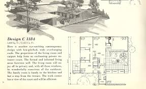 vintage house plans spanish style mid century modern home