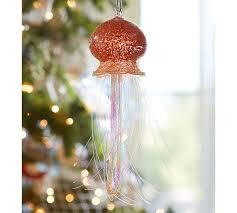 Pottery Barn Christmas Decorations 2015 tinsel jellyfish ornament pottery barn