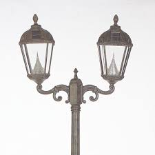 Solar Light Fixtures by Royal Solar Lamp Post And Two Seven Led Lanterns Products