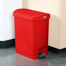 13 gallon red kitchen garbage can 13 gallon red kitchen trash can