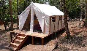 wall tents here u0027s a wall tent on a platform de