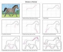 25 pferde zeichnen ideas hunde