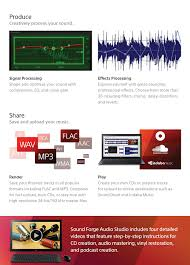 amazon com sony sound forge audio studio 10 download software
