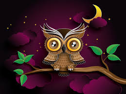 halloween owls owl big eyes gif gifs show more gifs