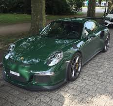 brewster green porsche 911 in green visionary tokyo ring of colour