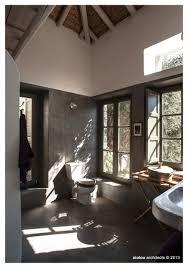 cement walls pebble floor river stone sink by true ibiza