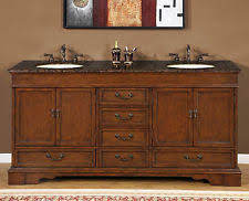 72 bathroom lavatory sink vanity cabinet granite