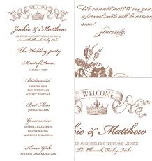 Wedding Template Invitation Crown Free Wedding Printables