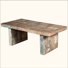 Mango Wood Coffee Table Wrought Iron Distressed Wood Coffee Table Dans Design Magz
