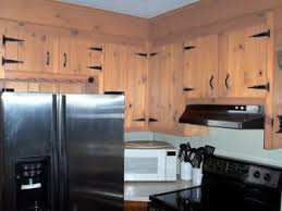 Knotty Pine Kitchen Cabinet Doors by Refinishing Knotty Pine Cabinets Knotty Pine Kitchen Cabinets