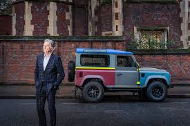 land rover defender 2016 land rover defender paul smith limited edition with paul smith