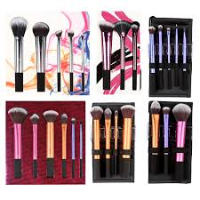 pro make up makeup brushes set core collection starter kit sam nic