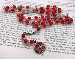 chaplet of the holy holy spirit chaplet etsy