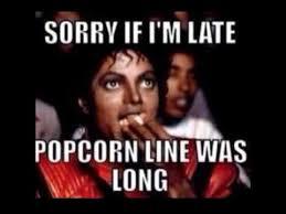 Pop Corn Meme - michael jackson and his popcorn youtube
