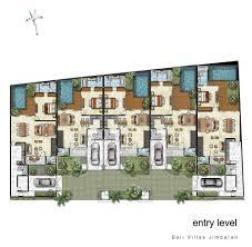 balinese villa house plans house plans