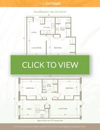 floor plans for cottages the cottages tallgrass of sun prairie