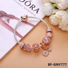 rose gold bracelet charm images Pandora rose gold charm bracelet jpg
