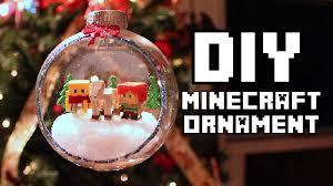 diy minecraft ornament u0027vanessa jhoy blog