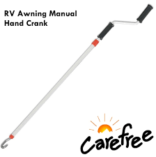 Carefree Awning Carefree R001546 Rp Telescoping Mnaula Awning Hand Crank